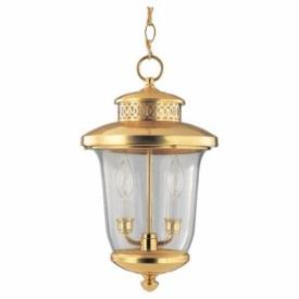 Sea Gull Lighting 60070-02 Two-light Carolton Outdoor Pendant
