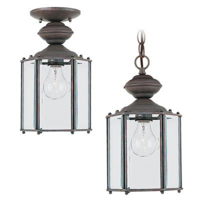 Sea Gull Lighting 6008-26 One Light Outdoor Pendant Fixture