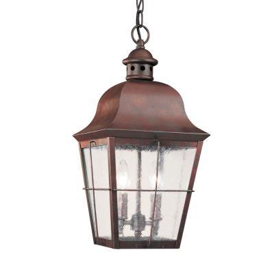 Sea Gull Lighting 6062-44 Two Light Outdoor Pendant Fixture
