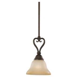 Sea Gull Lighting 61105-72 Single-Light Montclaire Pendant