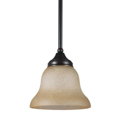 Sea Gull Lighting 61174BLE-710 Brockton - One Light Mini-Pendant