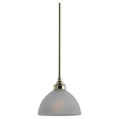 Sea Gull Lighting 61225-02 Single-Light Evansville Mini-Pendant