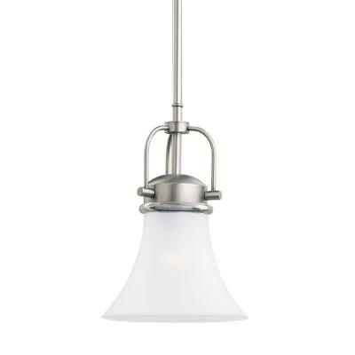 Sea Gull Lighting 61283-965 Single-Light Newport Mini-Pendant