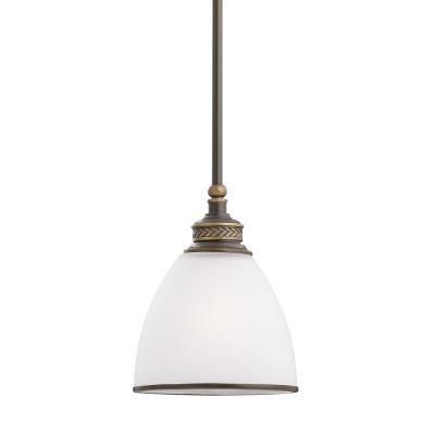 Sea Gull Lighting 61350-708 Laurel Leaf - One Light Mini-Pendant