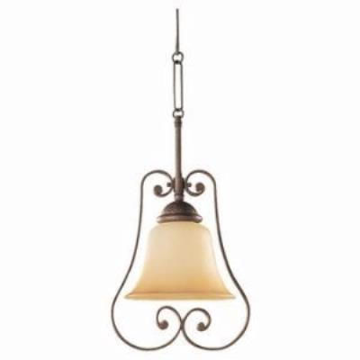 Sea Gull Lighting 61430-71 Single-Light Brandywine Mini-Pendant
