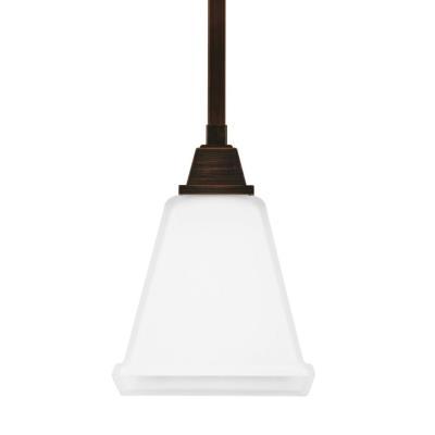 Sea Gull Lighting 6150401-710 Denhelm - One Light Mini-Pendant