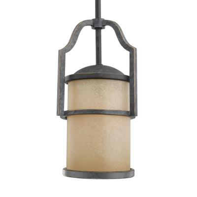 Sea Gull Lighting 61520BLE-845 Roslyn - One Light Mini-Pendant