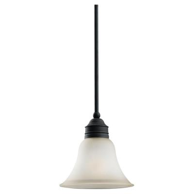 Sea Gull Lighting 61850-185 Single-Light Gladstone Mini-Pendant