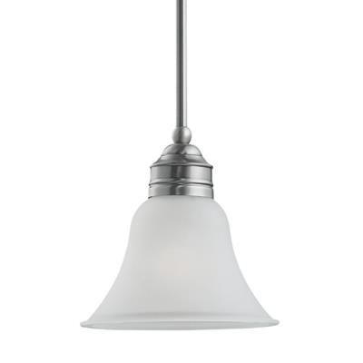 Sea Gull Lighting 61850-965 Single-Light Gladstone Mini-Pendant
