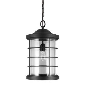 Sea Gull Lighting 6224401-12 Sauganash - One Light Outdoor Pendant