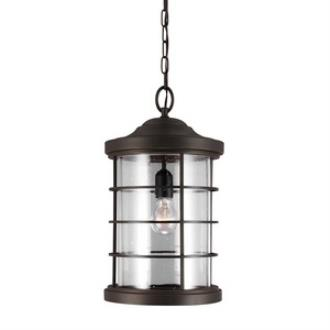 Sea Gull Lighting 6224401-71 Sauganash - One Light Outdoor Pendant
