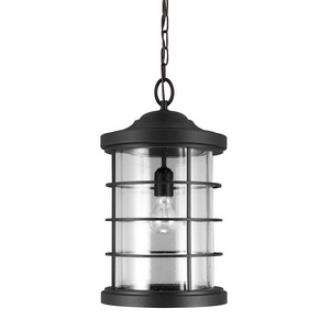 Sea Gull Lighting 6224401BLE-12 Sauganash - One Light Outdoor Pendant