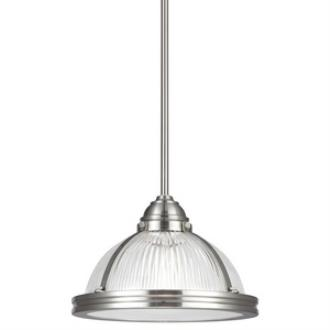 Sea Gull Lighting 65060-962 Pratt Street - One Light Pendant