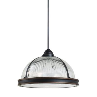 "Sea Gull Lighting 65062BLE-715 Pratt Street - 15.75"" Three Light Pendant"