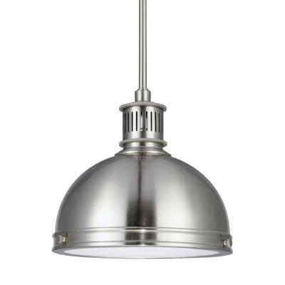 "Sea Gull Lighting 65085-962 Pratt Street - 9.5"" One Light Pendant"