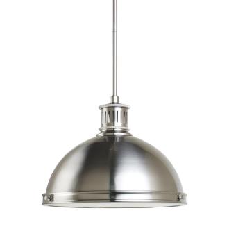 "Sea Gull Lighting 65086BLE-962 Pratt Street - 13"" Two Light Pendant with Bulbs Included"