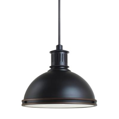 "Sea Gull Lighting 65087-715 Pratt Street - 16"" Three Light Pendant"
