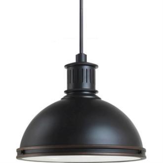 "Sea Gull Lighting 65087BLE-715 Pratt Street - 16"" Three Light Pendant with Bulbs Included"