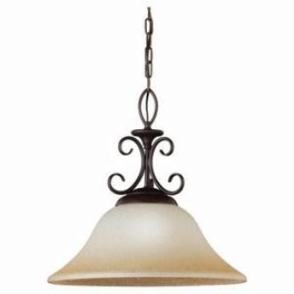 Sea Gull Lighting 65105-72 Single-Light Montclaire Pendant