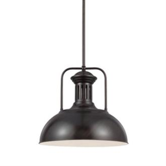 Sea Gull Lighting 6515401-710 Beacon Street - One Light Pendant
