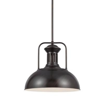 Sea Gull Lighting 6515401-710 Beacon Street - One Light Pendant