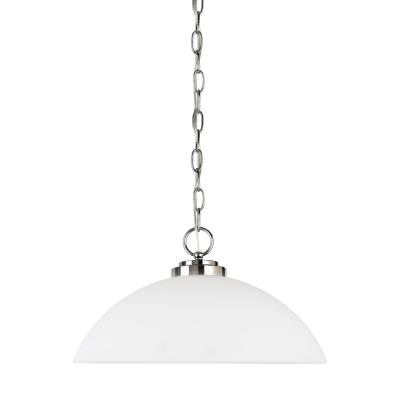 Sea Gull Lighting 65160BLE-05 Oslo - One Light Pendant