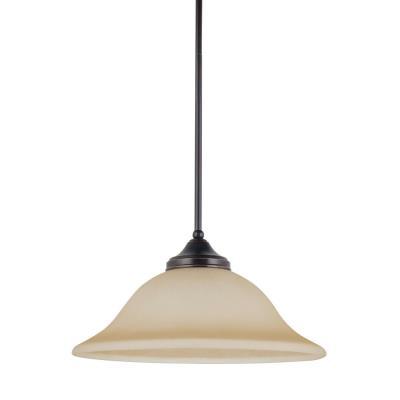 Sea Gull Lighting 65174BLE-710 Brockton - One Light Pendant