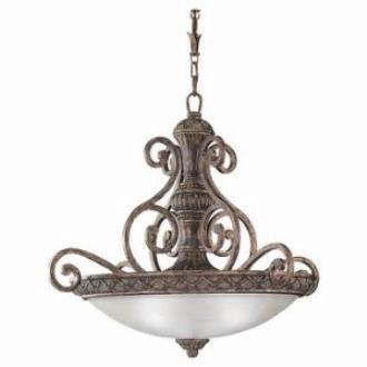Sea Gull Lighting 65252-758 Three Light Highlands Pendant