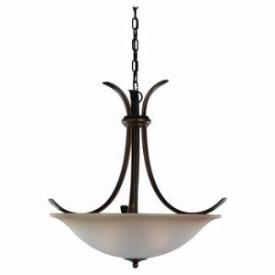Sea Gull Lighting 65361-829 Three-Light Rialto Pendant