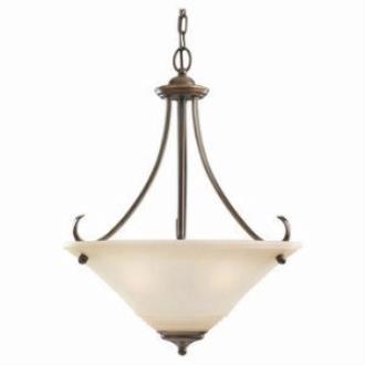 Sea Gull Lighting 65381-829 Three Light Pendant
