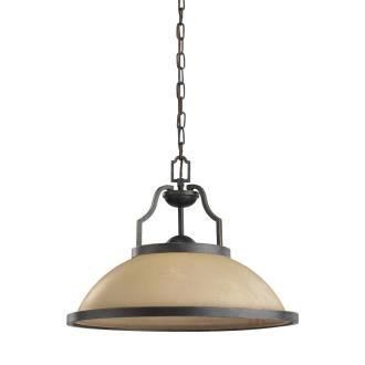 Sea Gull Lighting 65520-845 One Light Bronze Pendant
