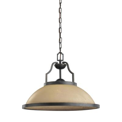 Sea Gull Lighting 65520BLE-845 Roslyn - One Light Pendant