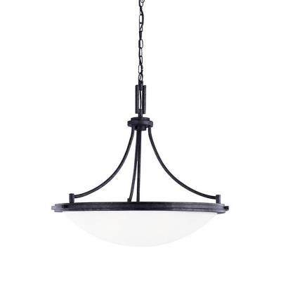 Sea Gull Lighting 65662BLE-839 Winnetka - Four Light Pendant