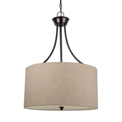 Sea Gull Lighting 65953-710 Stirling - Three Light Pendant
