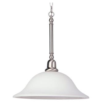 Sea Gull Lighting 66060-962 One Light Brushed Nickel Pendant