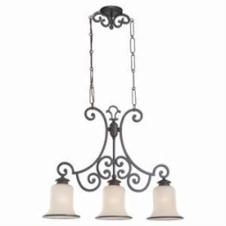 Sea Gull Lighting 66145BLE-814 Energy Star Three-light Acadia Billiard Chandelier