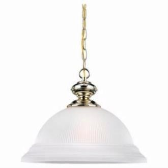 Sea Gull Lighting 6640-02 Single Light Pendant