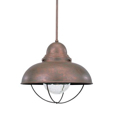 Sea Gull Lighting 6658-44 Single-light Sebring Outdoor Pendant