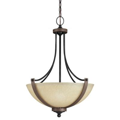 Sea Gull Lighting 6680403BLE-846 Corbeille - Three Light Pendant