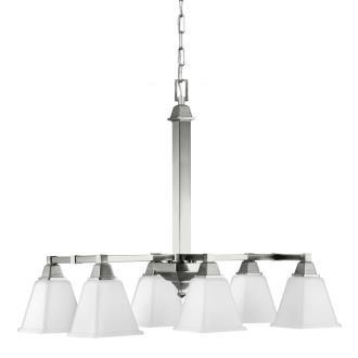 Sea Gull Lighting 6750406BLE-962 Denhelm - Six Light Island