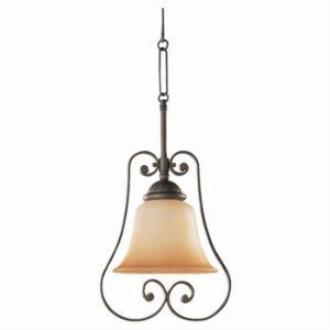 Sea Gull Lighting 69031BLE-71 Single-light Brandywine Mini-pendant