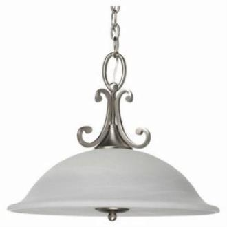 Sea Gull Lighting 69260BLE Serenity - One Light Pendant