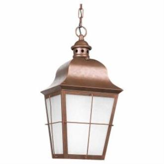 Sea Gull Lighting 69272PBLE Chatham - One Light Outdoor Pendant