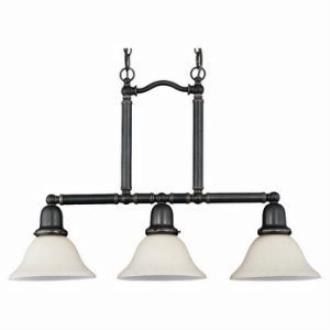 Sea Gull Lighting 69460BLE-782 Three-Light Sussex Fluorescent Pendant