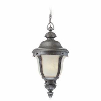 Sea Gull Lighting 69485PBLE Winston Court - One Light Outdoor Pendant