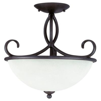 Sea Gull Lighting 75075-799 Three-light Pemberton Semi-flush Mount