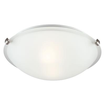 Sea Gull Lighting 7532402BLE-962 Clip - Two Light Flush Mount