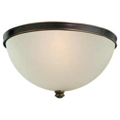 Sea Gull Lighting 75330-825 Two-Light Warwick Ceiling Light