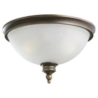 Sea Gull Lighting 75350-708 Laurel Leaf - Two Light Flush Mount