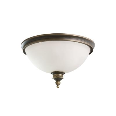 Sea Gull Lighting 75350-708 Laurel Leaf - Two Light Flush Mount